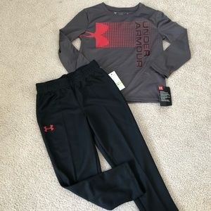 Size 4 under armour outfit NWT